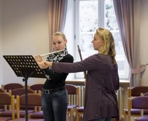 Unterricht Flöte